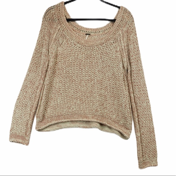 FREE PEOPLE loose knit sweater